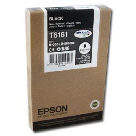Картридж черный T6161 Epson B300/500 (стандартной емкости) C13T616100