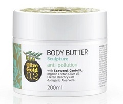 Боди баттер антицеллюлитный  для тела Olive Gold 200 мл