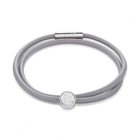Браслет Coeur de Lion 0118/31-1800 цвет серый