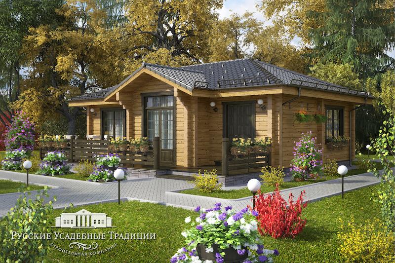 """Проекты одноэтажных домов «Бунгало» Проект одноэтажного дома """"Гамма"""" 80 кв.м. FINIK_r_01_2_LOGO.jpg"""