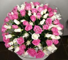 Букет роз Акито + Аква