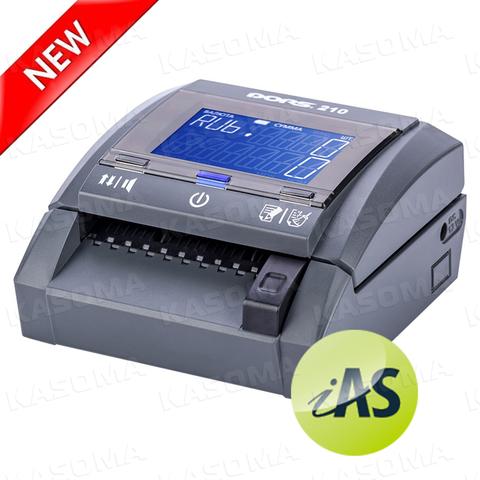 Автоматический детектор банкнот DORS 210 Compact с АКБ