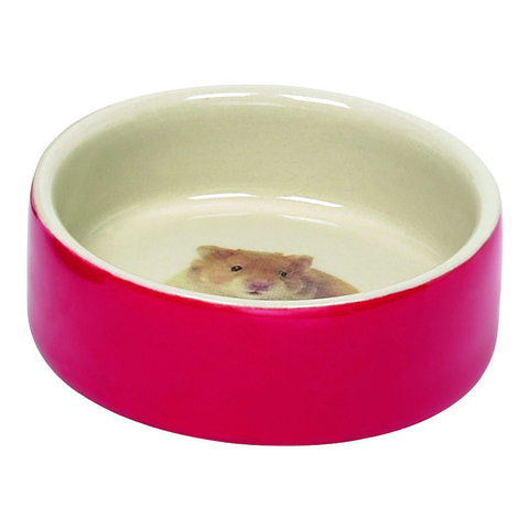 Nobby Hamster миска для грызунов керамика красная 55 мл