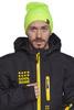Мужская горнолыжная шапка Cool Zone салатовая (кислотно желтый)