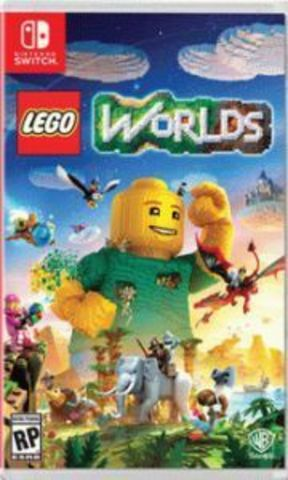 Nintendo Switch LEGO Worlds (русская версия)