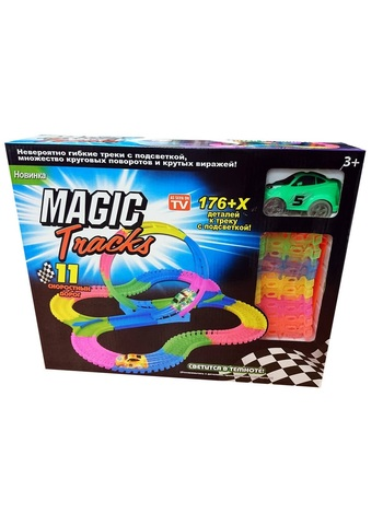 Magic Tracks - Большая гоночная трасса + Мертвая петля (176 дет.)