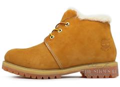 Ботинки Мужские Timberland Nellie Chukka Yellow с Мехом