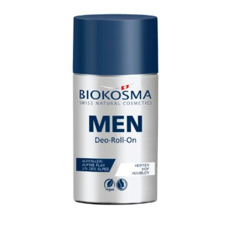 Шариковый дезодорант мужской Biokosma, 60 мл