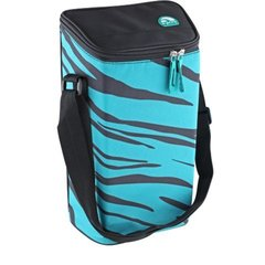 Сумка-термос Igloo 2 Bottle Wine Tote 16 teal-zebra
