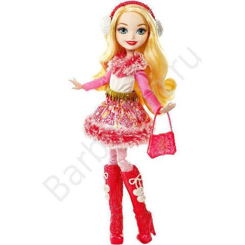 Кукла Еver Аfter Нigh Эппл Вайт (Apple White) - Эпическая Зима (Epic Winter), Mattel