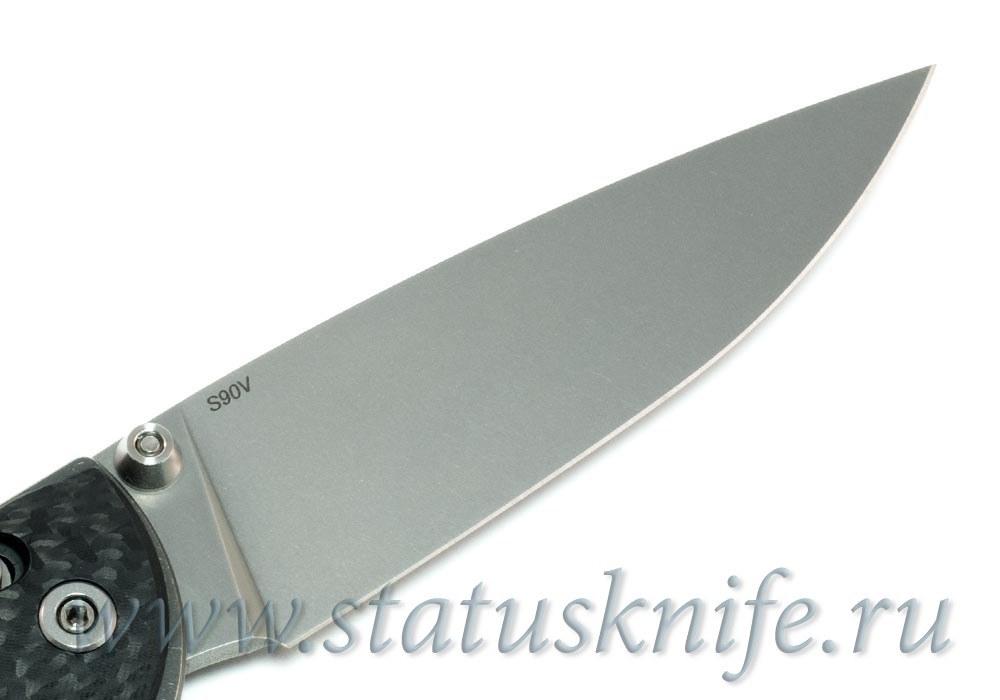 Нож Широгоров Табарган 100NS S90V Карбон