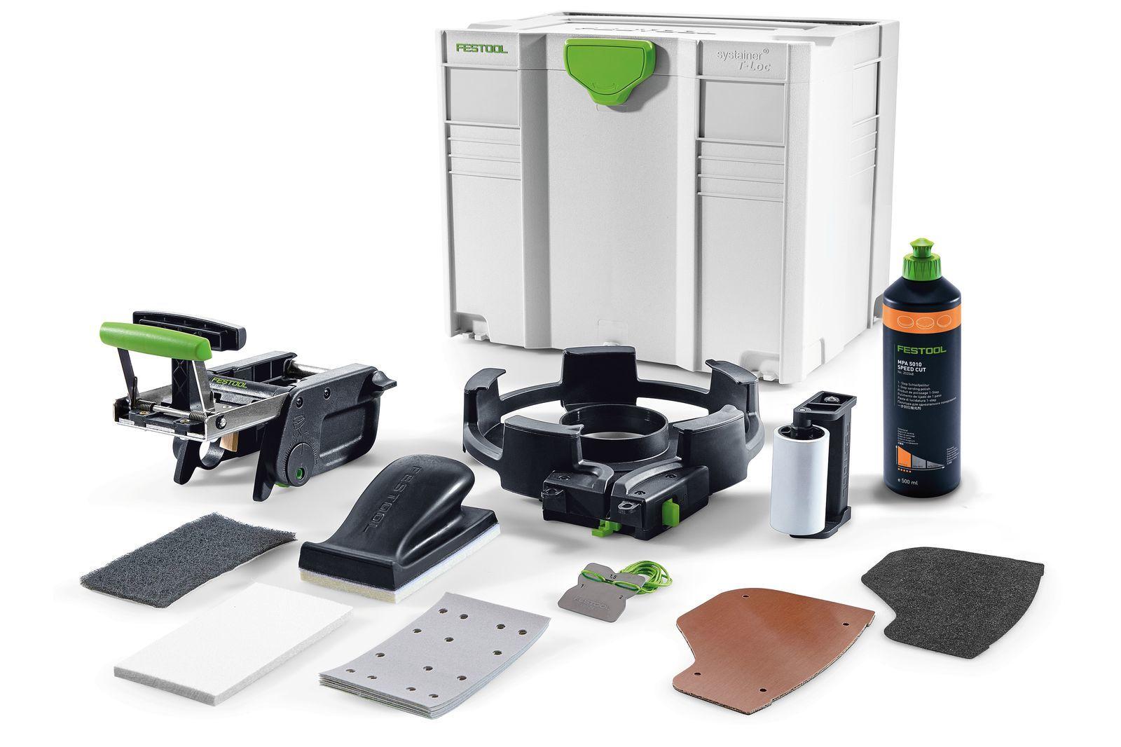 Комплект для обработки кромок, в систейнере T-Loc KB-KA 65 SYS Festool 500177