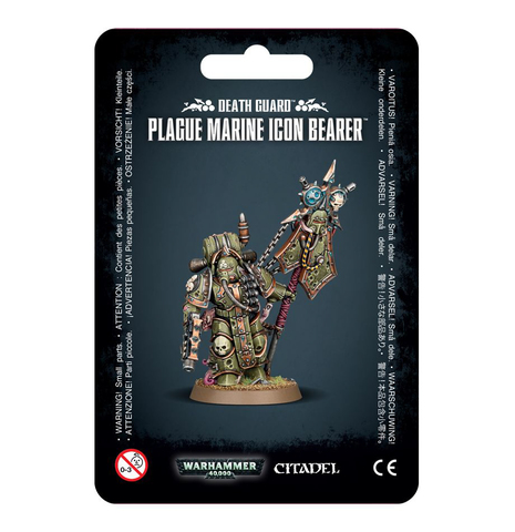 DEATH GUARD PLAGUE MARINE ICON BEARER