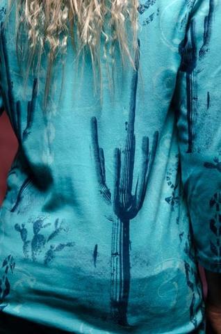 Женский пуловер Sonoran Scene Cactus Bay. Made in USA