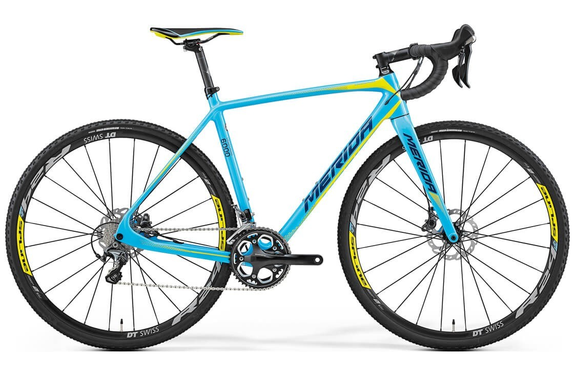 Merida Cyclo Cross 6000 (2017) (L / голубой с желтым)