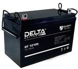 Аккумулятор Delta DT 12100 ( 12V 100Ah / 12В 100Ач ) - фотография
