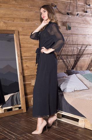 Длинный женский халат MIA-MIA Elegance Velvet Элеганс 12049