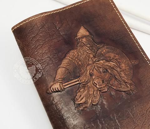 BY14-34-01 Кожаная обложка на паспорт