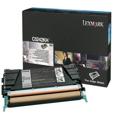Картридж для принтеров Lexmark C524/534 черный (black). Ресурс 8000 стр (C5242KH)