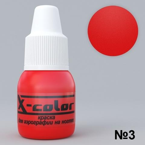 Краска для аэрографии №3 - Красная 5мл