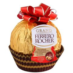 КОНФЕТЫ GRAND FERRERO ROCHER 125 г