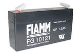 Аккумулятор FIAMM FG10121 ( 6V 1,2Ah / 6В 1,2Ач ) - фотография