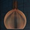 светильник копия   SECTO Octo 4240 lamp, black