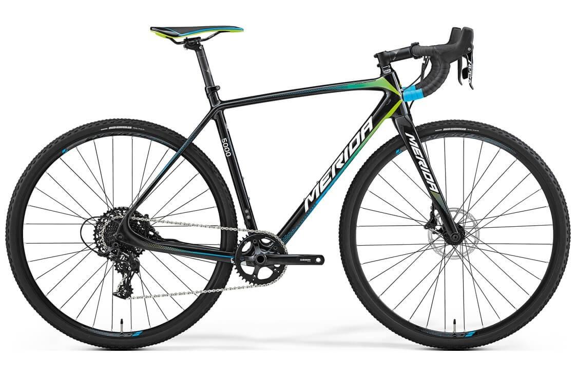 Merida Cyclo Cross 5000 (2017) (L / черный с зеленым)