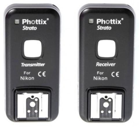 Синхронизатор Phottix Strato 2,4GHz Wire/Wireless 4 in 1 Trigger Set C6