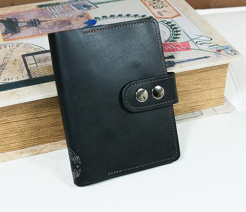 WL266-1 Мужское портмоне с отделением для паспорта ручной работы