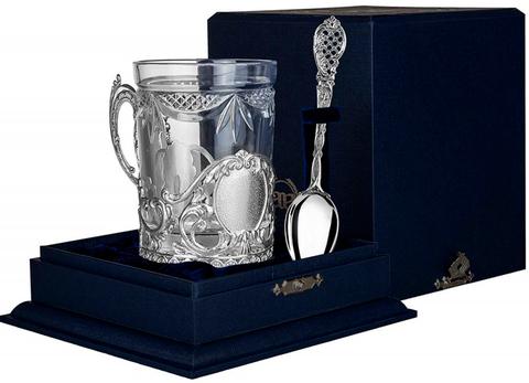 Cеребряный набор для чая «Визит»
