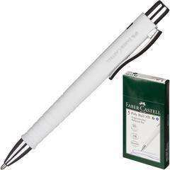 Ручка шариковая Faber-Castell Poly Ball XB, синий, белый корпус 241101