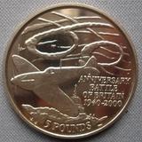 K8733, 2000, Гибралтар, 5 фунтов Битва за Британию