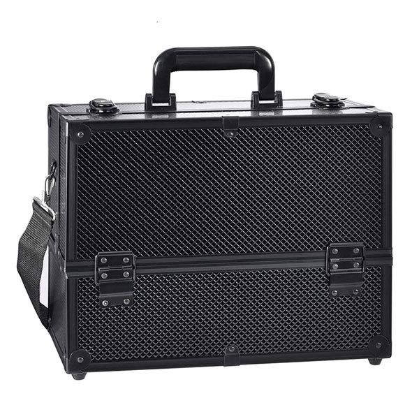 Бьюти кейсы и чемоданы Бьюти кейс для косметики MC004 Black Edition Бьюти-кейс-для-косметики-черный-MC004-1.jpg