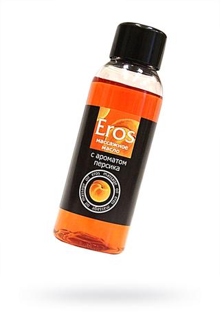 Масло массажное EROS c ароматом персика, 50 мл