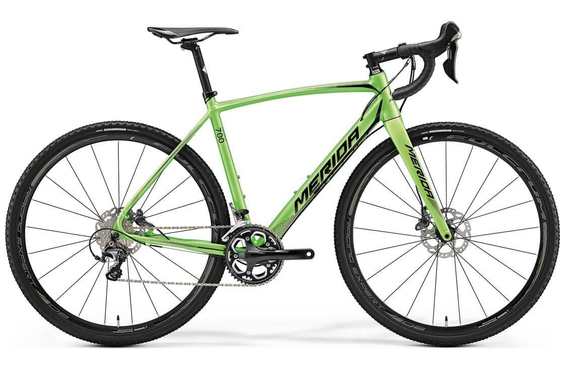 Merida Cyclo Cross 700 (2017) (XS / зеленый)