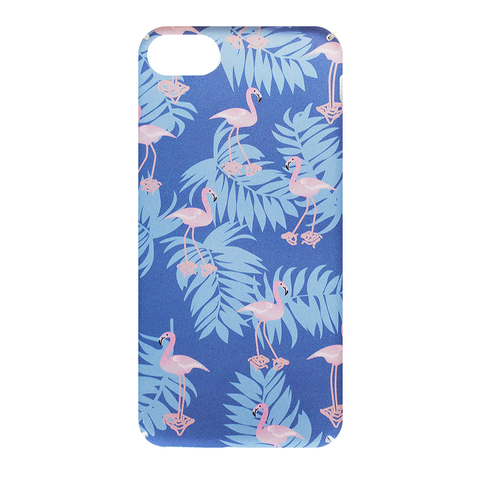 Чехол для IPhone 6/6S Blue Flamingo