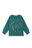 Пижама для девочки зеленая Ёжик