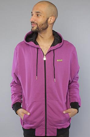 Толстовка фиолетовая на молнии 1