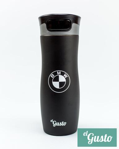 Термокружка el Gusto с принтом «BMW», черная 470 мл