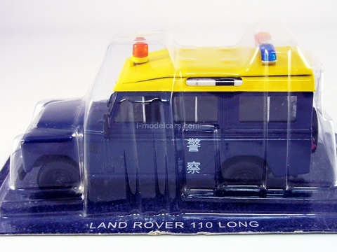 Land Rover Defender 109 LWB 110 Hong Kong 1:43 DeAgostini World's Police Car #9