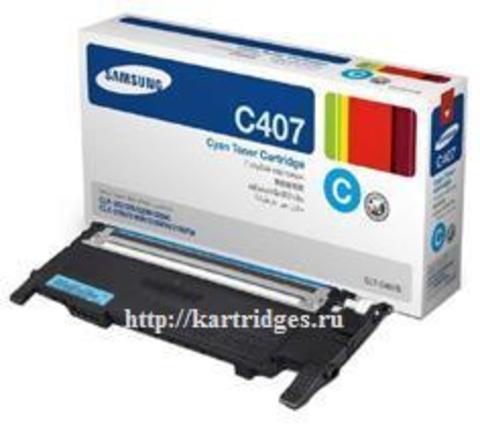 Картридж Samsung CLT-C407S