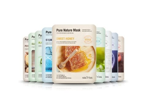 ANSKIN Secriss Pure Nature Mask Pack Маска для лица тканевая 25 мл