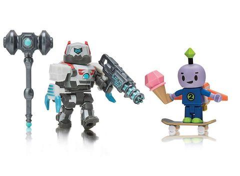 Набор фигурок Роблокс Робот 64: Бибо и Дуэлянт Дроид 5000 - Roblox Robot 64: Beebo and DuelDroid, Jazwares