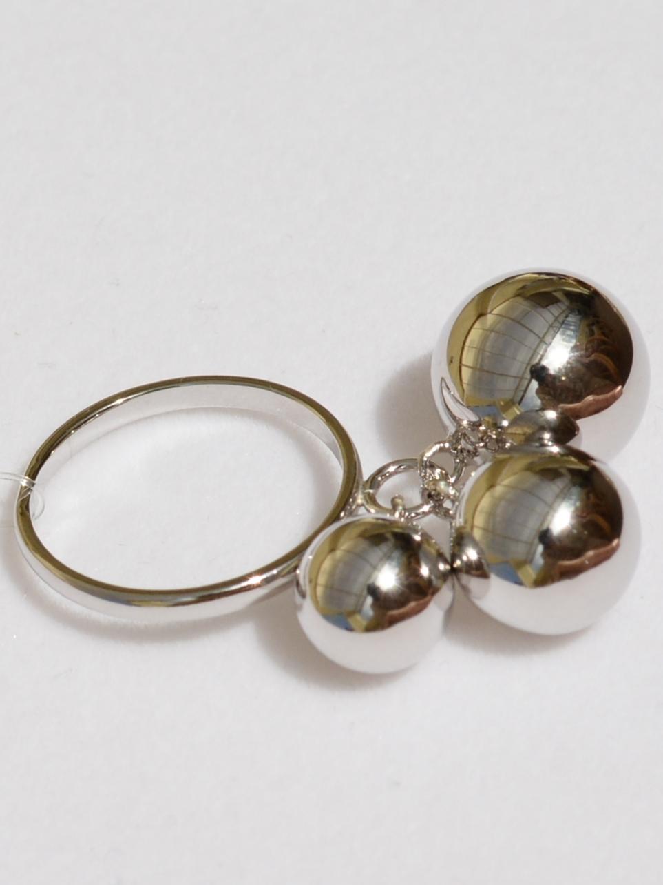 Шары 1+1+1 (кольцо-кулон из серебра)