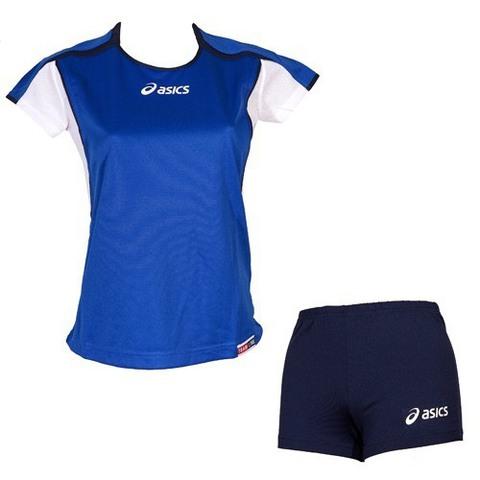 Волейбольная форма Asics Set Attack Lady blue распродажа