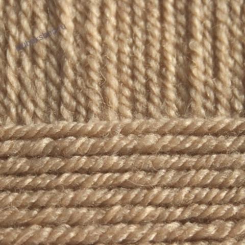 Пряжа Популярная (Пехорка) цвет 270 мокрый песок