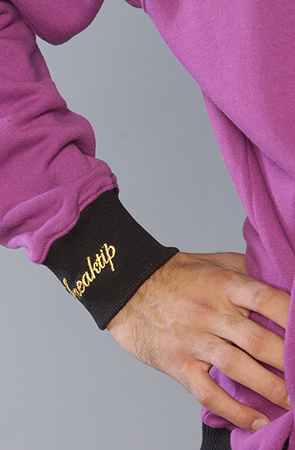 Толстовка фиолетовая на молнии 3