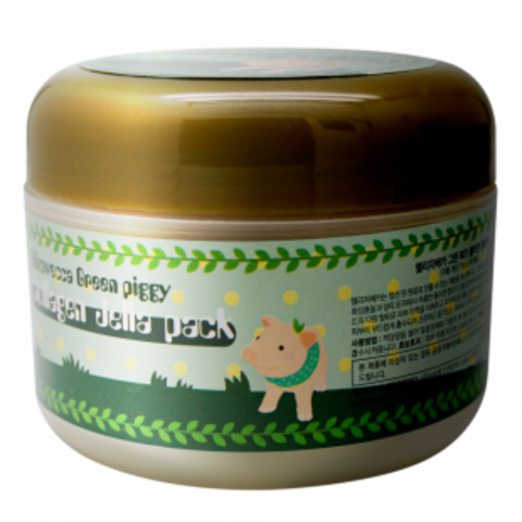 Маска для лица желейная с коллагеном ЛИФТИНГ Elizavecca Green Piggy Collagen Jella Pack, 100 мл