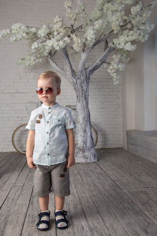 РБ108 Рубашка для мальчика